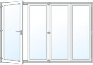 aluminium bifold doors Melbourne
